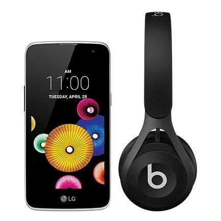 LG K4 Blue + Beats EP Headphones £109.99 (includes £10 top up on EE
