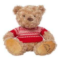 Fraser Bears are 50% off, £9 for the 12 inch one. £3.50 delivery under £50