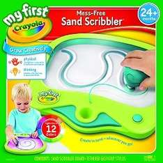 crayola my first sand scribbler £4.99 @ Home bargains