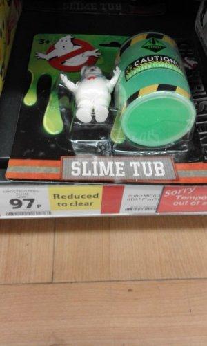 Ghostbusters slime tub 97p @ Tesco instore
