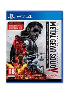 Metal Gear Solid V: The Definitive Experience (PS4) Base
