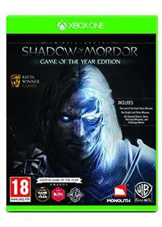 Middle-Earth: Shadow of Mordor GOTY (Xbox One) £12.25 Base