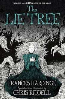 """Costa Book of the Year """"The Lie Tree"""" by Frances Hardinge at the Book People £4.00 / £6.95 delivered -  beautifully illustrated by Chris Riddell"""