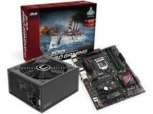 ASUS Z170 PRO GAMING Intel Z170 ATX + FREE 500W PSU £159.98 @ Novatech