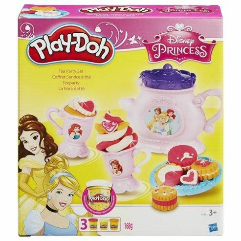 Playdoh Disney Princess Exclusive Tea Party Set - £7 @ Tesco (Free C&C)