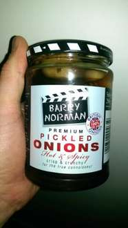 Barry Norman Premium Pickled Onions (hot and spicy) 20% off was £2.40 now £1.92 at Waitrose