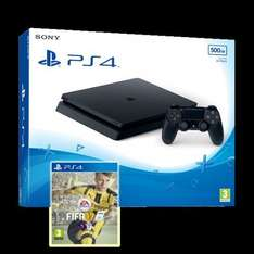 PS4 Slim 500GB Black Console + Fifa 17 + 2 Free items of your choice £239.86 @ Shopto