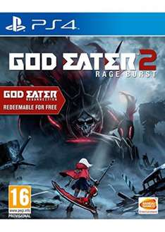 God Eater 2 PS4 £24.99 Delivered - Dispatched from and sold by MyMemory / Amazon