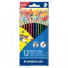 Staedtler Noris Colour Pencils 12 pack 1/2 PRICE £1.75 WAS £3.50 TESCO DIRECT (FREE NEXT DAY C+C)