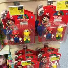Super Mario Large Figures Twin Pack £5.99 @B&M