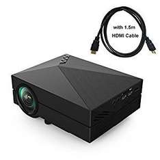 "9"" Mini Projector - £50.98 Sold by NiutopUK and Fulfilled by Amazon"