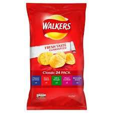 Walkers Variety Assorted Christmas 24 Pack - 2 packs for £4 - Iceland