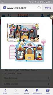 tsum tsum toy shop playset Tesco Direct for £9.50
