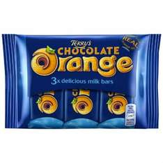 Terry's Chocolate Orange Bars 3 Pack £1 in POUNDLAND!