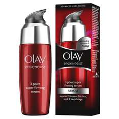 Olay Regenerist Anti Ageing 3 Point Super Firming Serum (50 ml) was £29.99 now £12.99 (Prime) / £16.98 (non Prime) at Amazon