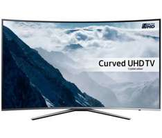 "65"" curved screen Samsung ue65ku6500 4k ultra HD HDR TV with 6 year guarantee £1379 at richer sounds"