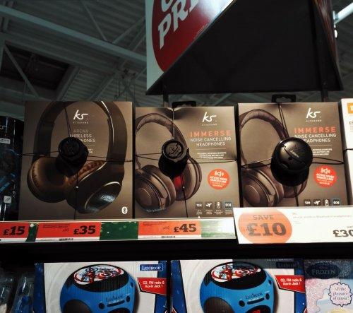 Kitsound Immerse Bluetooth Headphones £44.99 @ Amazon, £45 Sainsbury's