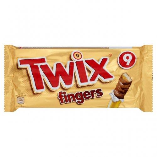 Morrisons: Twix Biscuit Fingers Multipack 9 x 23g £1