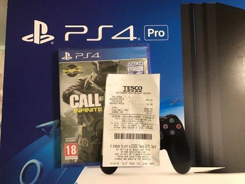 PS4 Pro 1TB + Call of Duty Infinite Warfare £239.99 instore @ Tesco (Nottingham)