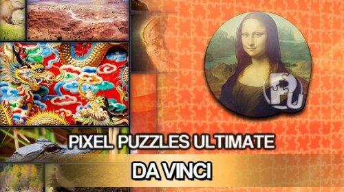 Pixel Puzzles Ultimate + Da Vinci Puzzle Pack DLC (PC) - GMG