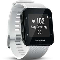 Garmin Forerunner 35 GPS Running Watch with Wrist-based Heart Rate - White Only @ Amazon £137.51