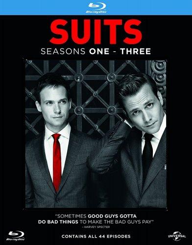 Suits - Season 1-3 [Blu-ray] [2013] [Region Free] GODDAMNIT! - £11.99 (Prime) £13.98 (Non Prime) @ Amazon