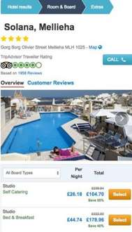 Malta family winter getaway from £76pp via Holiday Pirates