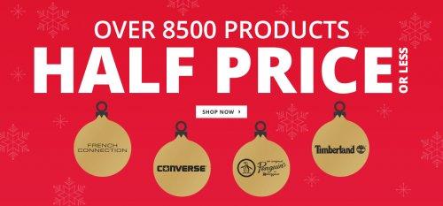 MandMDirect.com - Everything Half Price or Less!- Possible 6.6% Quidco