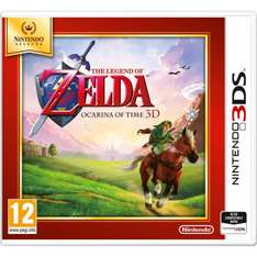 The Legend of Zelda: Ocarina of Time Nintendo Selects 3DS Game New  £13.29 at Tesco Direct