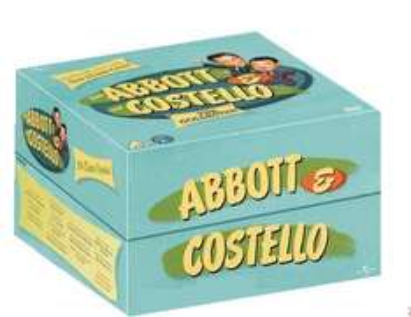 ABBOTT & COSTELLO COLLECTION  (13-Disc Box Set) [DVD] £13.99 (Prime) / £16.98(non Prime) at Amazon