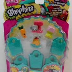 Shopkins 5 Pack in store £3.99  at B&M
