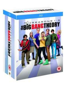 The Big Bang Theory - Season 1-9 (Blu Ray) £34.99 Delivered @ TheEntertainmentStore via eBay