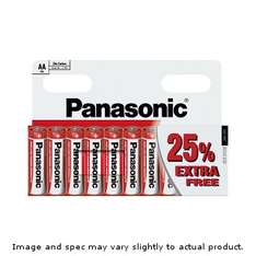 Panasonic 10 Pack of AA or AAA Batteries, £1.00 @ B&M Bargains