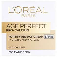 Better than 1/2 price on selected L'Oreal Paris Age Perfect £7.95 @ Superdrug