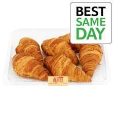 All Butter Croissant 6 Pack £1 @ Tesco
