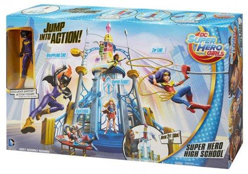 Tesco Direct-DC Super Hero Girls-Super hero high playset £25