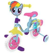 my little pony bike was £50 now £25 tesco 10""