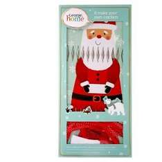 Fill your own Xmas crackers. ASDA, £3 for 6 crackers. Cracker gift ideas listed in post inc perfume from 99p!