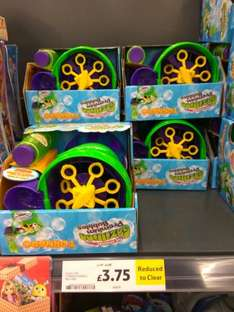 The original gazillion bubble machine instore at Tesco - Kingston Park for £3.75