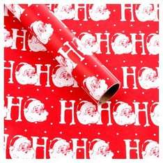 Asda wrapping paper 3 for £5