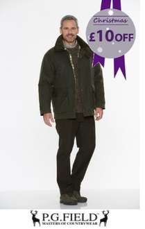 Wax Jacket Was £89 NOW £69 with voucher ( 5.5% Quidco Option too) + Free Delivery @ Edinburgh woolen mill