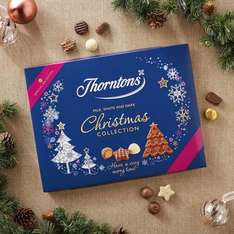 THORNTONS CHRISTMAS COLLECTION (457G) 3 BOXES FOR £16 or £14.24 with Quidco
