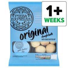 Pizza Express Baked Dough Balls with Garlic Butter Dip (16 per pack - 200g) was £3.00 now £1.50 @ Tesco