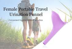 Perfect gift for the dear in your life. Female Portable Urination Funnel  23p delivered @Gearbest