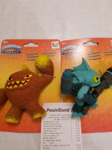 Skylanders Giants Squishables - £1 instore @ Poundland