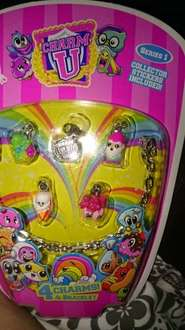 Charm U Series 1 Bracelet with 4 charms 99p @ Home Bargains £5 elsewhere