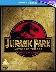 Jurassic Park: Ultimate Trilogy (Blu-Ray) £6.50 Delivered (Using Code) @ Zoom