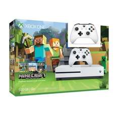 Xbox One S 500GB Minecraft pack with Second Controller for £229.99 @ smythstoys
