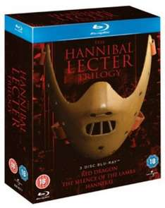 The Hannibal Lecter Trilogy Blu Ray box set £6.03 @ Zoom