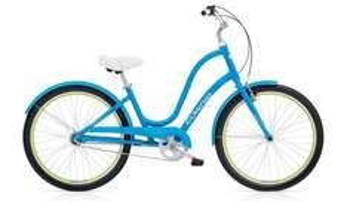Ex-Hire Electra Townie Original 3i 2016 Hybrid Bike - Blue or Green @ Rutland Cycling £149.99